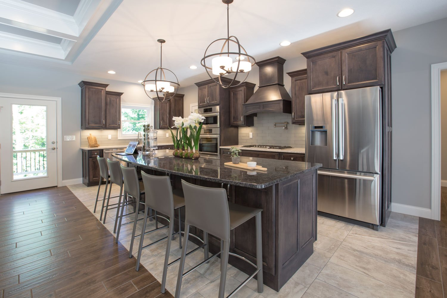 2017 evansville parade of homes 2017 home of the year dining kitchen
