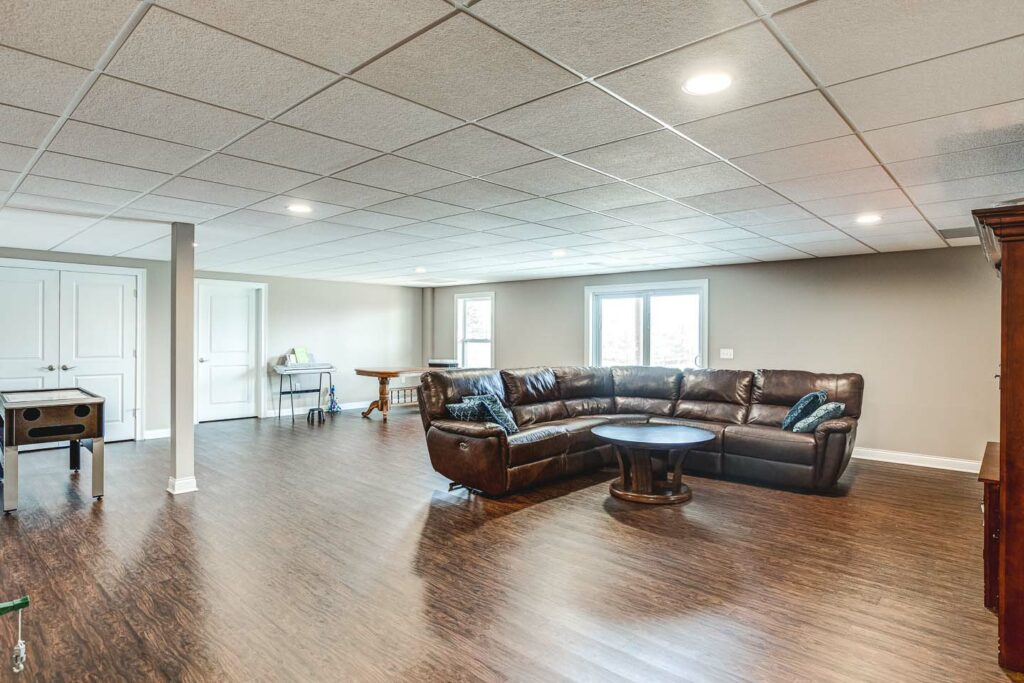 Newburgh-custom-home-reinbrecht-homes-basement-floor
