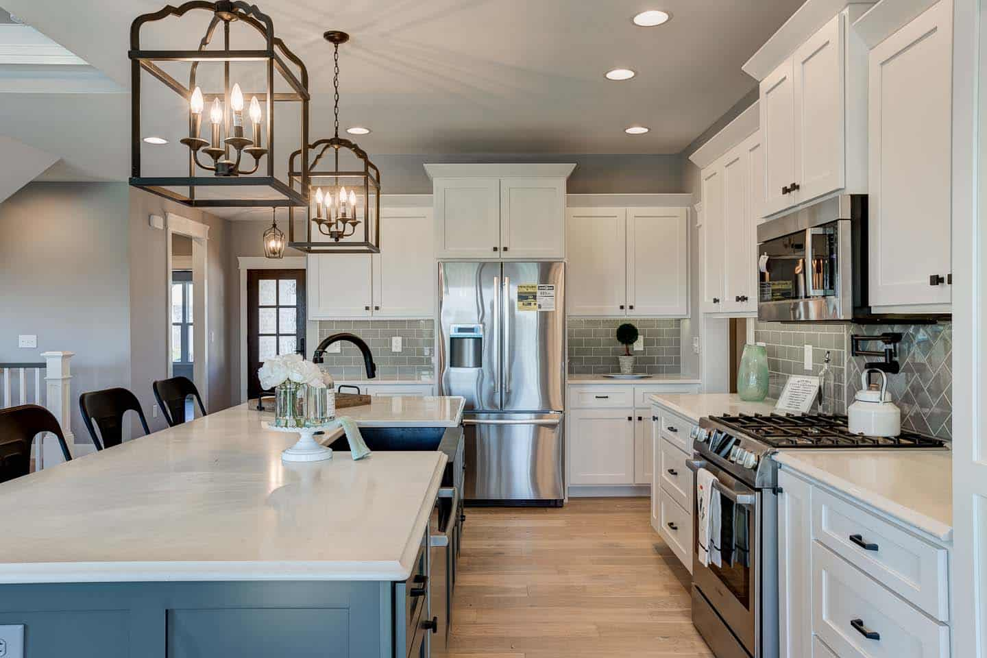 Evansville Parade of Homes | Reinbrecht Homes | Centerra Ridge Lot 156 Kitchen