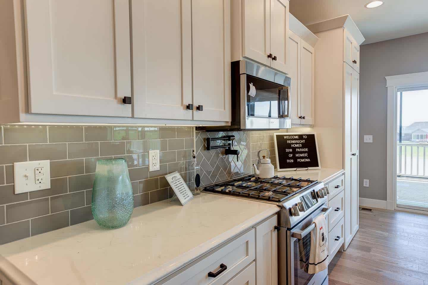 Evansville Parade of Homes | Reinbrecht Homes | Centerra Ridge Lot 156 Granite Countertops